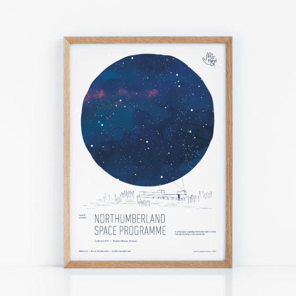 Northumberland Space Programme (Northumberland) poster