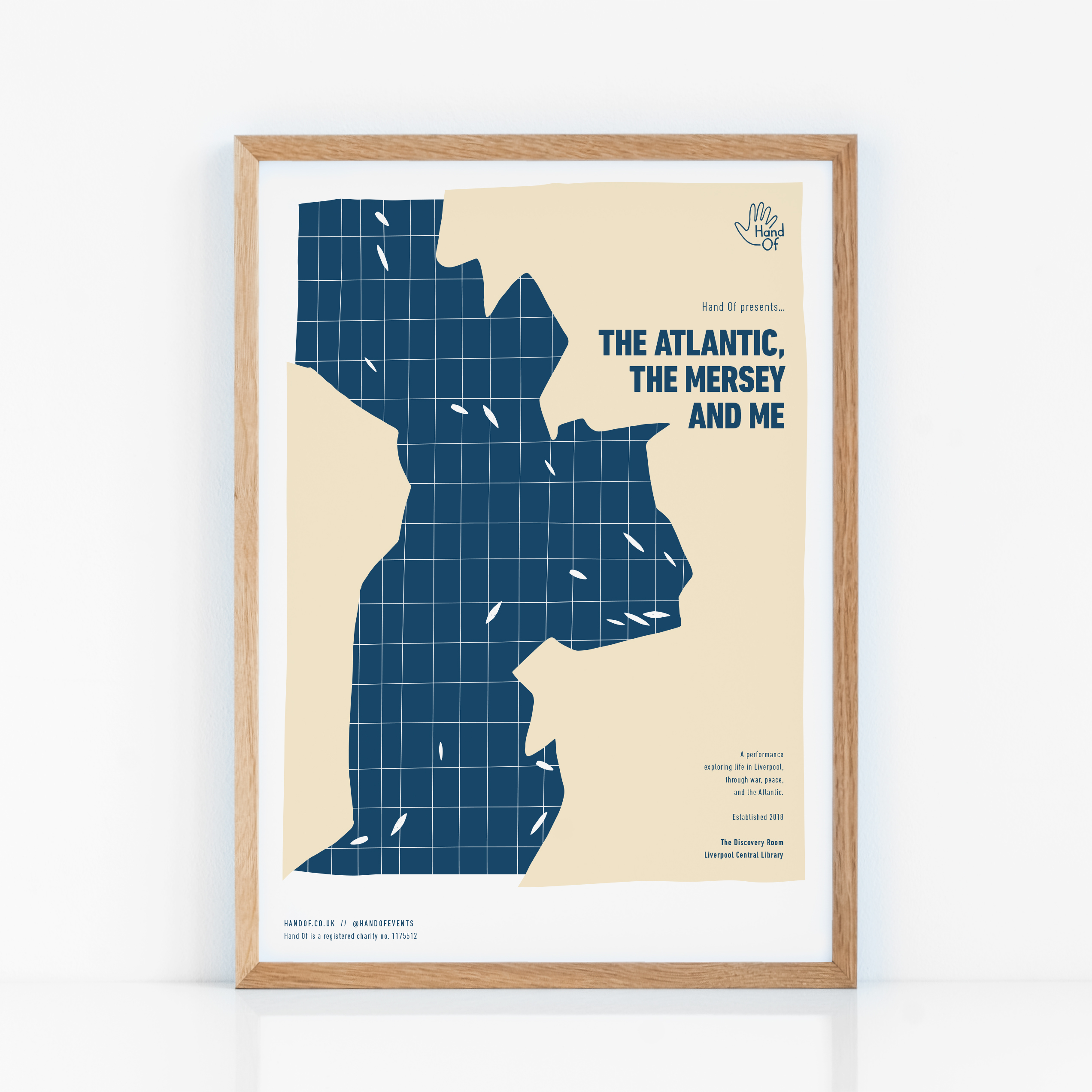 The Atlantic, The Mersey & Me (Liverpool) poster