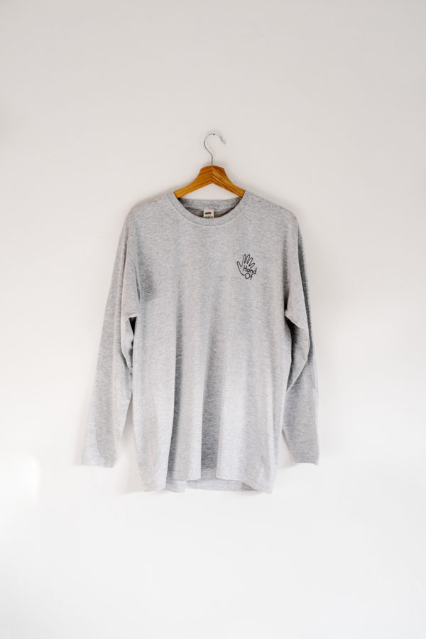 Hand Of long sleeve t-shirt (front)