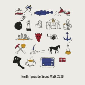 The North Tyneside Sound Walk 2020 artwork.